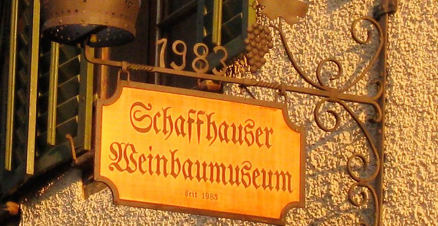 Schaffhauser Weinbaumuseum